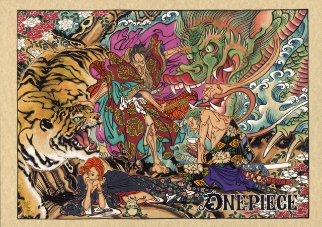 「ONE PIECE」カラーカット