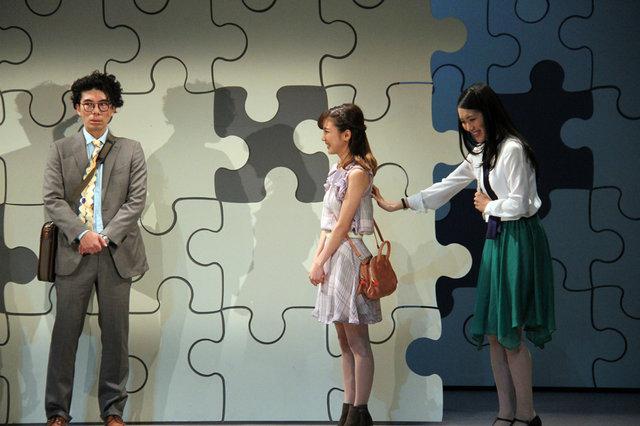 風間俊介のシメの言葉に片桐仁「100点だな!」舞台『ベター・ハーフ』会見