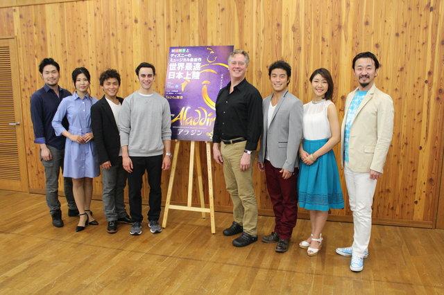 日本ならではの新演出もアリ?劇団四季『アラジン』合同インタビューレポート!