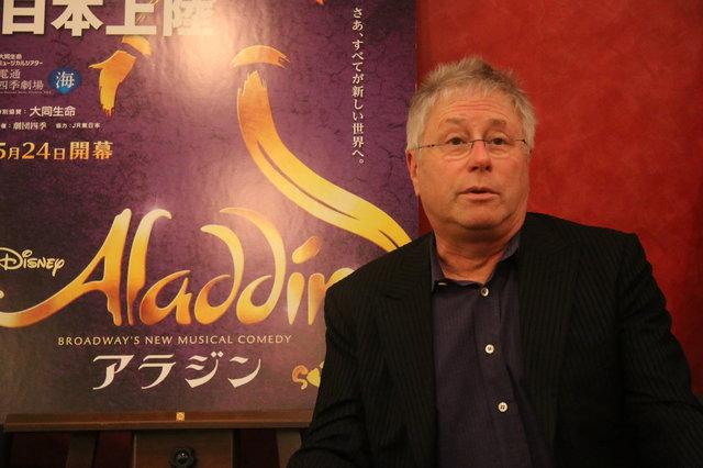 まもなく開幕!劇団四季ミュージカル『アラジン』作曲家アラン・メンケン、本作の魅力を大いに語る!