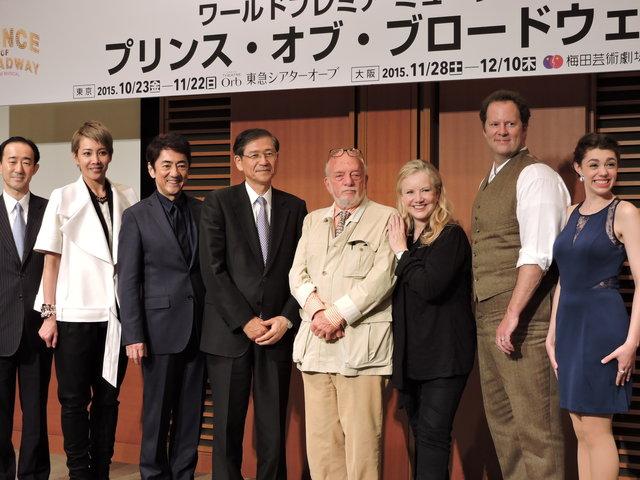 唯一の日本人キャストに柚希礼音!声の出演に市村正親!『プリンス・オブ・ブロードウェイ』制作発表記者会見