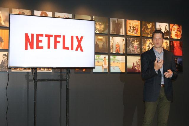 Netflix代表のグレッグ・ピーターズ