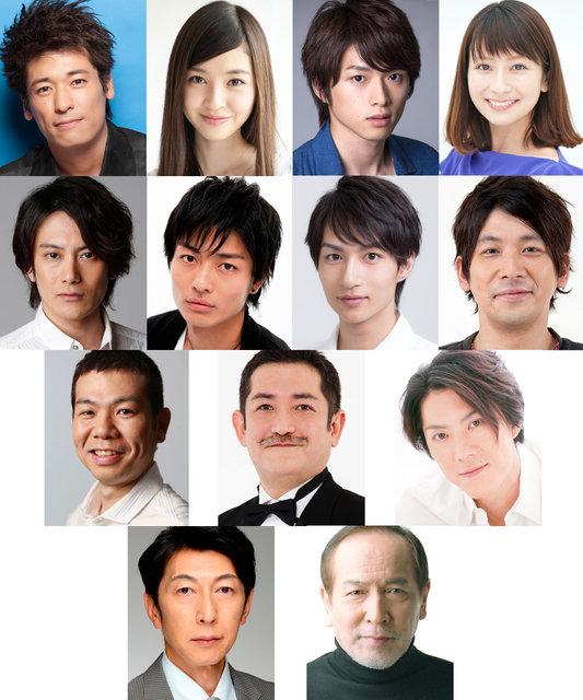 佐藤隆太主演『ダブリンの鐘つきカビ人間』2015年版の全キャスト発表!