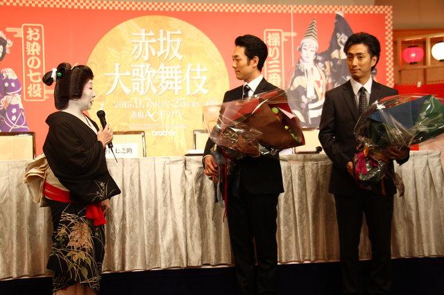 『赤坂大歌舞伎』中村勘九郎、中村七之助