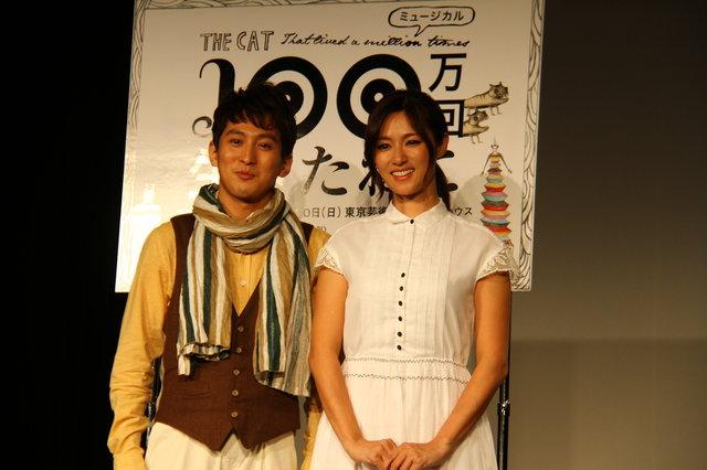 深田恭子、堂々の歌唱披露!全身全霊で臨む初舞台『100万回生きたねこ』