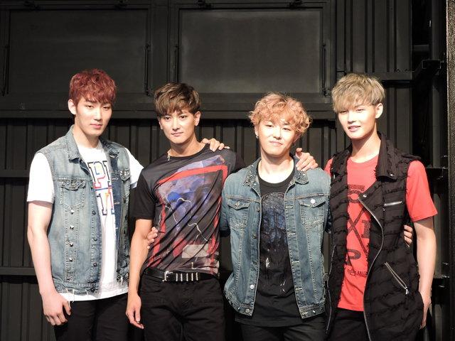 『RUN TO YOU』超新星グァンス、Block Bユグォン、Apeaceホン・ソンホ、チョン・ヨンソク「この熱い作品で、東京の夏をぶっ飛ばしたい!」