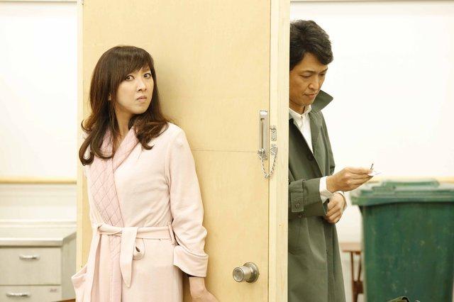 『グッバイ・ガール』紫吹淳、岡田浩暉