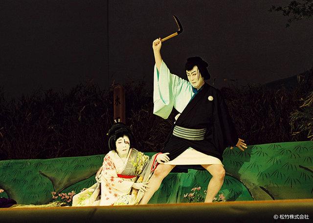 8月特選歌舞伎『色彩間苅豆~かさね』