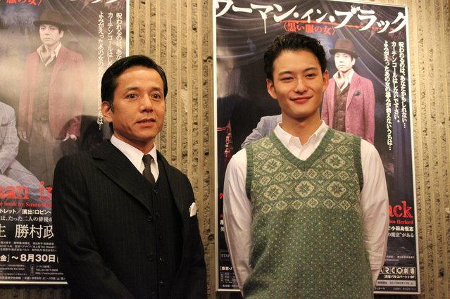 岡田将生「演じていて思わずはっ!と声が…」 『ウーマン・イン・ブラック』開幕