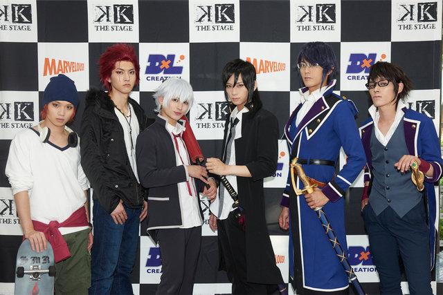 """舞台『K』第二章-AROUSAL OF KING- 開幕!「最高の""""絆の物語""""を届けます」"""