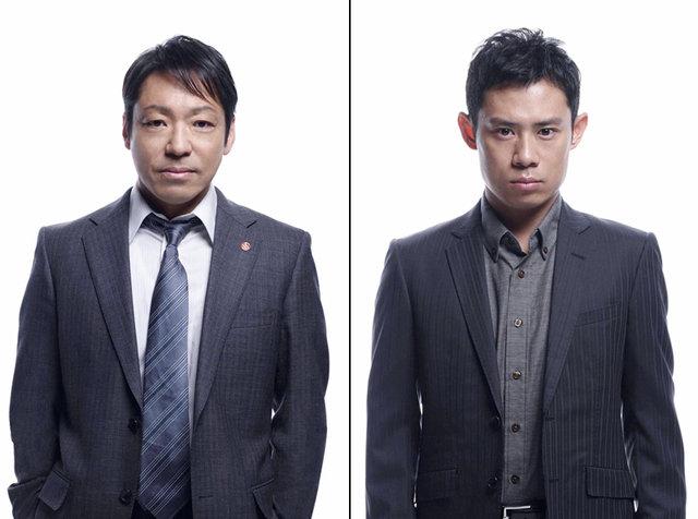 香川照之、伊藤淳史『大杉探偵事務所』