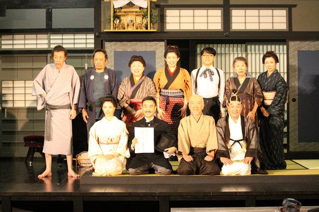 古き良き日本語に心が温まる、舞台『國語元年』公開舞台稽古