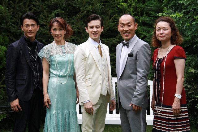 ウエンツ瑛士×濱田めぐみ、20年ぶりの共演は夫婦役!ミュージカル『スコット&ゼルダ』製作発表
