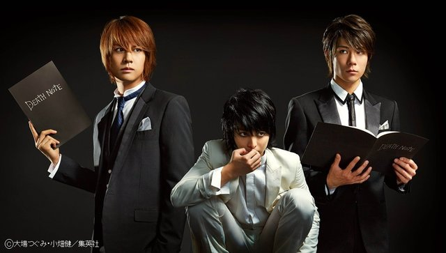浦井健治×柿澤勇人がWキャストで挑んだミュージカル『デスノート The Musical』、10月WOWOWにて放送!
