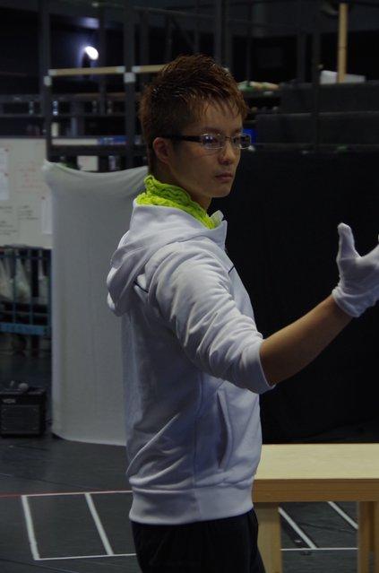 田代万里生『CHESS』公開稽古