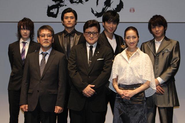 信長vs顕如の宿敵関係を描く!陣内孝則&水夏希出演『Honganji』製作発表