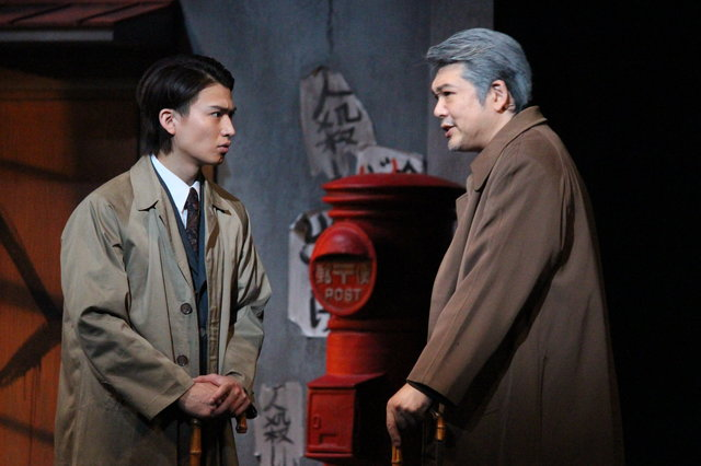 『黒いハンカチーフ』公開舞台稽古