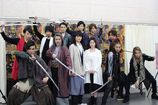 瀬戸康史が俳優生活10周年の想いを語る!Dステ17th『夕陽伝』記者会見