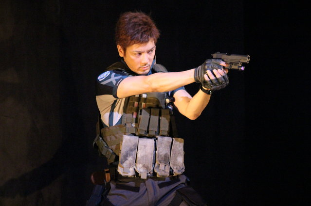 『BIOHAZARD THE STAGE』中村誠治郎