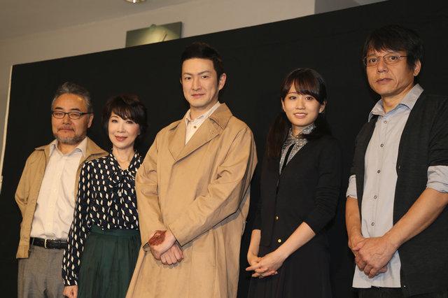 中村獅童演じる「帰還兵」を通じて、劇作家・岩松了が問う人間の価値 『青い瞳』フォトコール