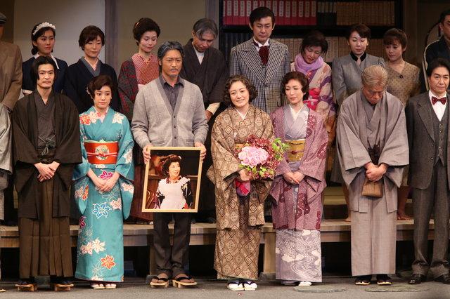 『放浪記』東京公演千秋楽