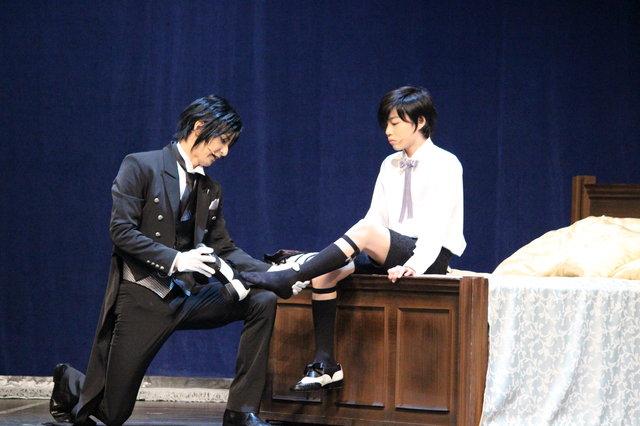 ミュージカル『黒執事』-地に燃えるリコリス2015- 東京公演開幕!古川雄大&福崎那由他より初日コメント到着