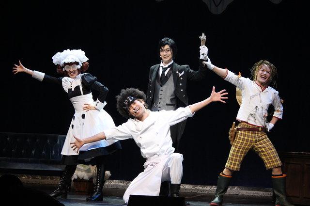 愉快なシエルの使用人三人組もバッチリな黒執事ミュージカル