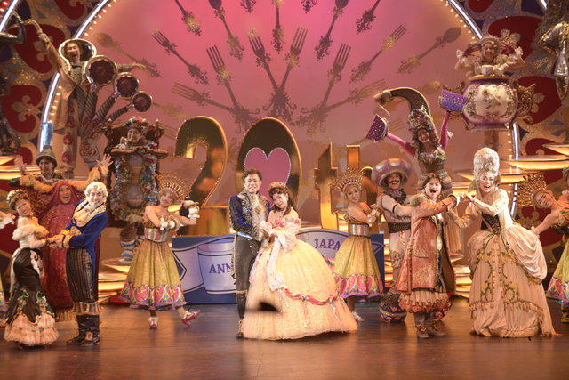 劇団四季、ミュージカル『美女と野獣』日本上演20周年達成!