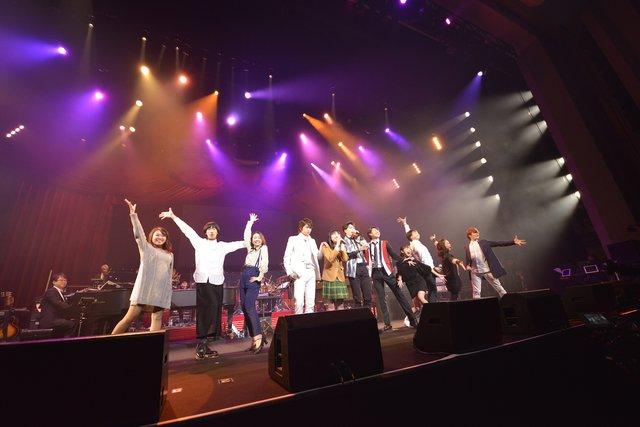 本間昭光 生誕50周年記念ライブに『花より男子 The Musical』キャストがサプライズ出演!