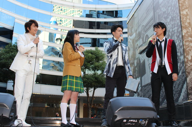 『花より男子 The Musical』公開イベントで松下優也(X4)、白洲迅、上山竜治らが楽曲披露!