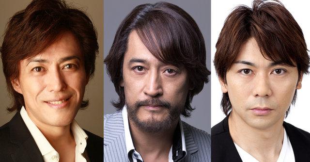 三銃士が帰ってくる!橋本さとし、石井一孝、岸祐二『cube三銃士 Mon STARS Concert ~Returns~』上演決定