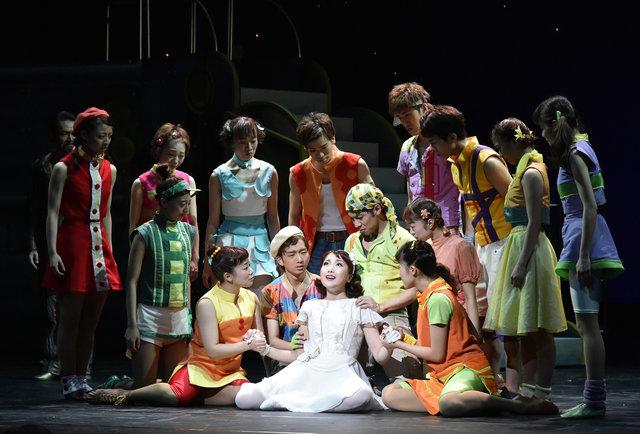 劇団四季、ファミリーミュージカル『エルコスの祈り』の公開舞台稽古を開催