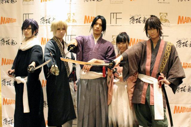 ミュージカル『薄桜鬼』新選組奇譚、開幕!松田岳「受け継がれた想いを引き継ぐ」