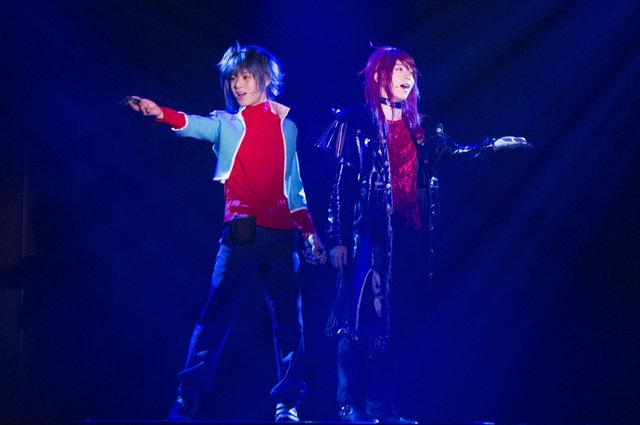 イメージ広がるリアルファイト!舞台「カードファイト!! ヴァンガード」~バーチャル・ステージ~開幕