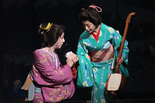 『元禄港歌-千年の恋の森-』開幕、市川猿之助、宮沢りえが名作に新たな命を吹き込む