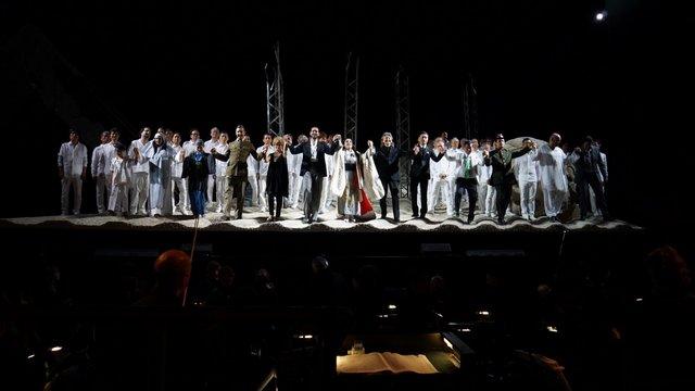 プッチーニ音楽祭でも上演された三枝成彰のオペラ『Jr.バタフライ』イタリア語版が日本初上陸!