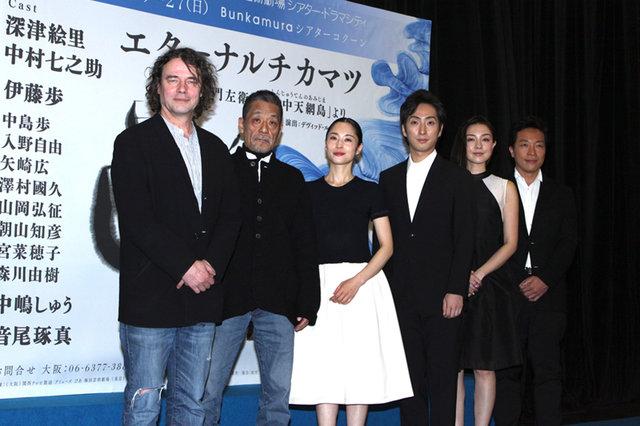 『ETERNAL CHIKAMATSU』深津絵里×中村七之助、初共演!制作発表では七之助の女形の美しさが話題に