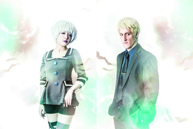 PREMIUM 3D STAGE『残響のテロル』キャラクタービジュアル第2弾!潘めぐみ&チャド・マレーン公開