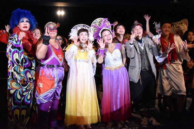 これぞWAHAHA本舗!3年ぶりの全体公演『ラスト2』製作発表イベントでコスプレプロレス大会!?