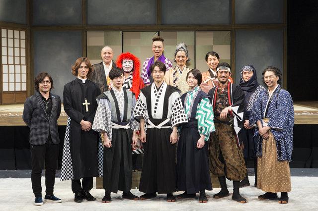 """和田琢磨、柾木玲弥、北村諒らによる""""忠臣蔵""""逆視点コメディ!『ジーザス・クライスト・サムライスター』開幕"""