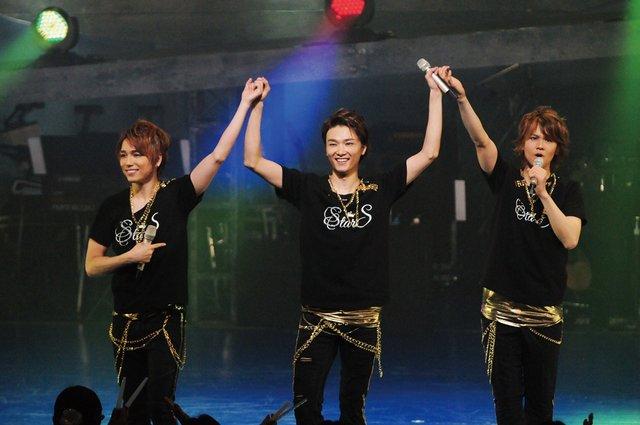 StarS(井上芳雄、浦井健治、山崎育三郎)コンサートの模様をWOWOWにて放送決定!
