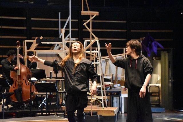 『夢の劇』公開稽古_玉置森山
