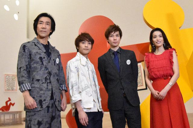 柿澤勇人、岸谷五朗が熱く語る!日本初上陸ミュージカル『ラディアント・ベイビー』とは