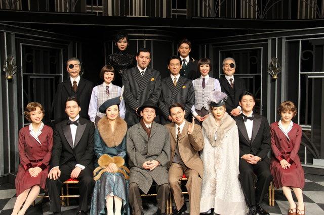 ミュージカル『グランドホテル』中川晃教、成河らWキャストが囲み会見に勢揃い!