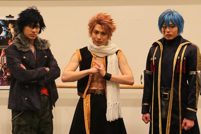 注目の「FAIRY TAIL」キャスト3人が衣装姿を披露!宮崎秋人「観客として観たいぐらい」