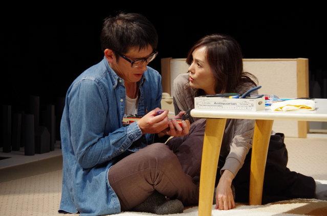 「本物の演劇の人たちと本物の演劇の場で・・・」モダンスイマーズ新作舞台『嗚呼いま、だから愛。』観劇レポート