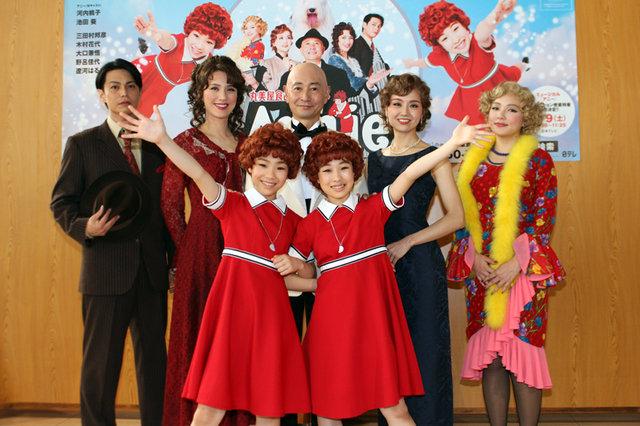 遼河はるひ「この感覚、久しぶり!」ジョエル・ビショッフ演出版ラスト『アニー』開幕