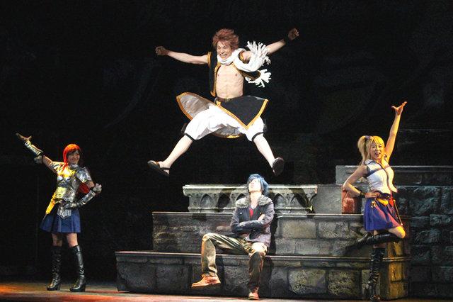 ライブ・ファンタジー「FAIRY TAIL」開幕!宮崎秋人「映像と音の融合、役者の持つ生の迫力を体感してほしい」