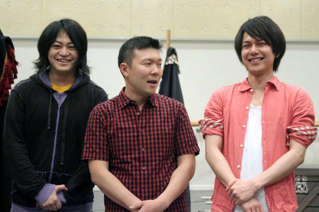 ムッシュ・モウソワール第二回来日公演『レッド・ジャケット』稽古場会見_2