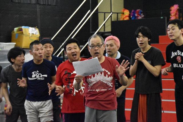 ワハハ本舗『ラスト2 ~NEW HOPE 新たなる希望~』稽古場レポート_2